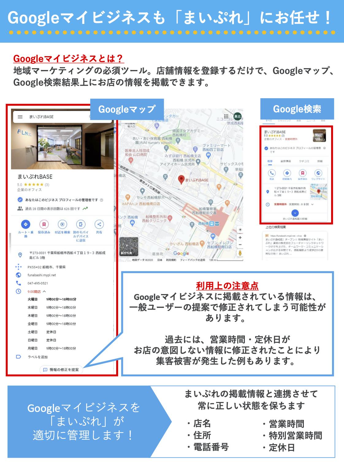 まいぷれ糸島×Googleマイビジネス(地図)
